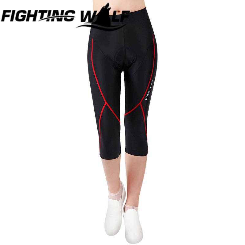Women Cycling Windproof Cropped Trouser Running Tight Breathable Trousers High Waist Cropped Leggings Fitness Joggers Trousers<br><br>Aliexpress
