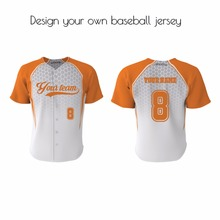 Fully customized sublimated adult&youth team practice baseball jersey&softball wear