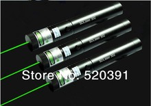 strong power 500mw \1000mw green laser pointers 532nm burning torch Burn Matches & Light burn Cigarettes+key+changer+gift box