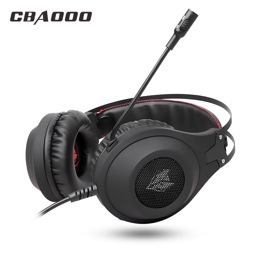 N2 Gaming Headset Deep Bass Stereo Computer Game Headphones USB plug Earphone with microphone PC professional Gamer<br>