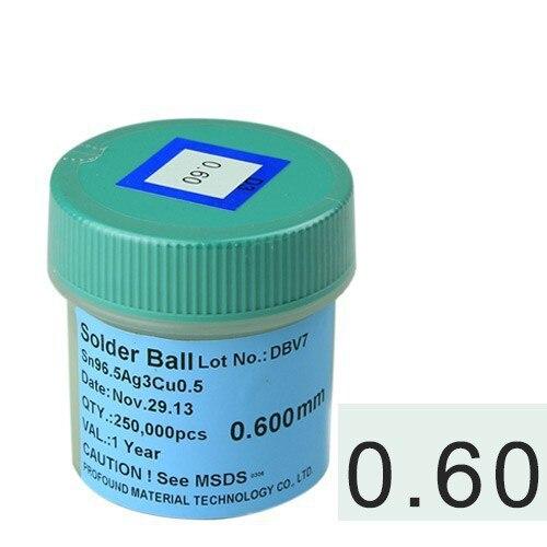 for BGA reworking 0.6mm 250k lead-free BGA reballing soldering balls<br><br>Aliexpress