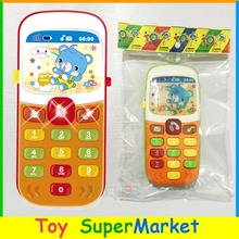 Kid Toy Cellphone Mobile Phone Early Educational Learning Toy Machine Music Toy Electric Phone Model Machine Best Gift for kid(China)