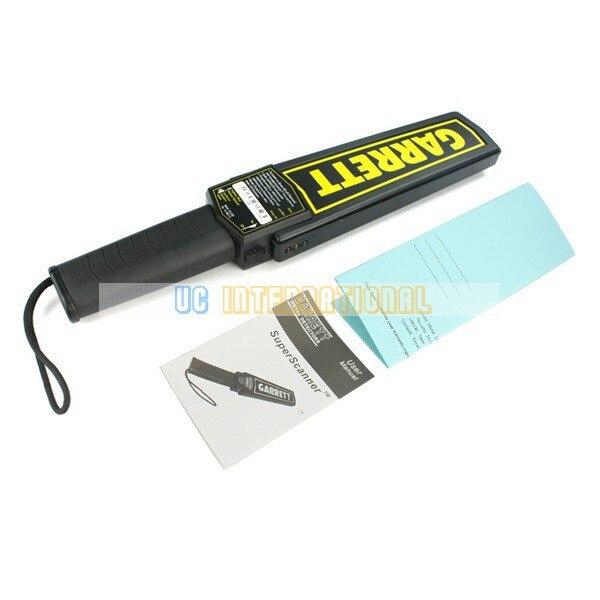 FREE SHIPPING High Sensitivity Garrett Super Scanner Hand Held Gold Metal Detector For Security Detectors #1165180<br>