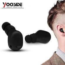 Yooside Smallest Wireless Bluetooth 4.1 Headset with Mic Long Playtime Earphone for iPhone & Android Smartphones(China)