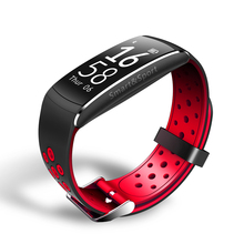 Buy Sports Smart Bracelet Heart Rate Monitor Fitness Tracker Bluetooth Wristband IP68 Waterproof Swimming Smartband Android IOS E-business Co., Ltd Store) for $28.41 in AliExpress store