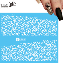Tracy Simple Nail 1 Sheets New Hot Designs Water Transfer Decal for Nail Art Sexy Leopard Printing Sticker TRB304(China)