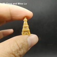 Retro Eiffel Tower Resin Crafts Decorations Props Toy Model Kid Diy Game