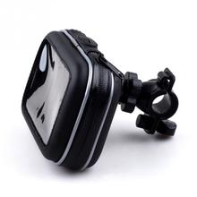 "Waterproof Motorcycle Handlebar Mount Holder Case Bag for 5"" GPS Garmin Nuvi"