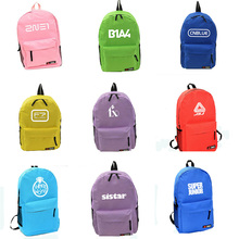 Youpop K-POP EXO BIGBANG GOT7 Album Nylon Jewelry Admission Package 2016 KPOP New Fashion Backpack Cosmetic Bags