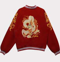 Autumn 2016 new punk embroidered dragon  bomber jacket baseball uniform jacket female loose bf wind