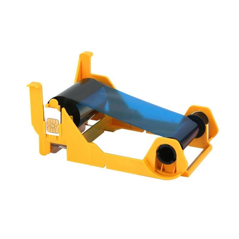 compatible 800033-840 YMCKO Color Ribbon 200 prints Compatible for Zebra Zxp series 3 card printers <br>