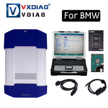 2017 NEW ALLSCANNER VXDIAG MULTI Diagnostic Tool For bmw Powerful than Icom A2 A3 NEXT Original software with CF30 Laptop