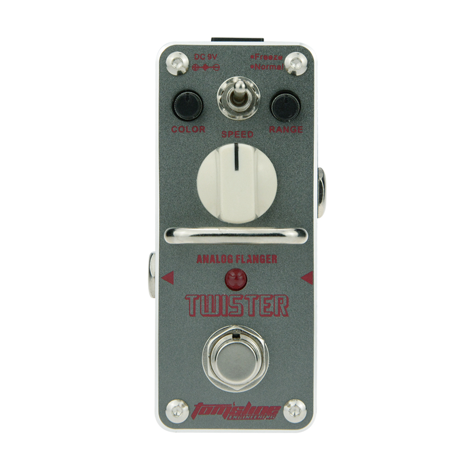 AROMA Tomsline ATR-3 Twister Analog Flanger MINI Guitar Effect Pedal Analogue Effect Ture Bypass<br>