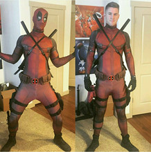 deadpool costume accessories lady cosplay adult men costumes movie cosplay kids mask deadpool costume adulte red and black