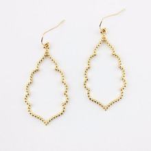 2017 Newest Designer Inspired Women's Brand Earrings Gold Filled Statement Earrings Bohemian Rose Gold Chandelier Earrings
