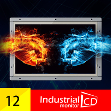 12.1 inch lcd 1280x800 hd IPS monitor widescreen open frame display IPS panel lcd monitor with HDMI/VGA/TV/AV/USB input(China)