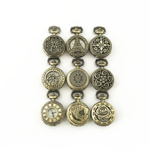 FANTASY UNIVERSE Freeshipping a lot 10PCS pocket watch NECKLACE Dia2.7CM HYTONG39