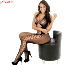 Buy Jaycosin Bodysuit latex catsuit babydolls combinaison sexy hot erotic ouverte lingeries bodystocking sexy lingerie Nov28