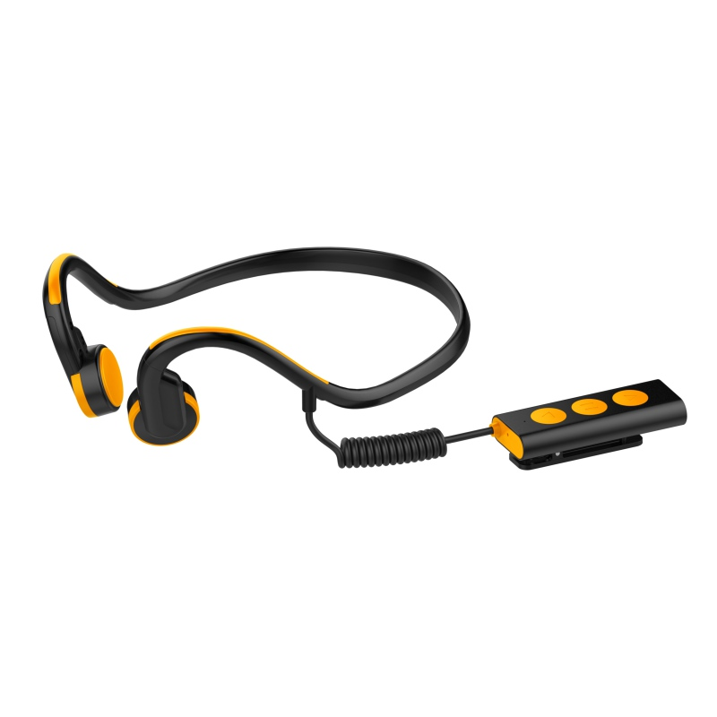 Wireless Noise Reduction Bone Conduction Headsets Outdoor Sport Neckband Earphone With Mic Apply Noisy Environment or Sport<br>