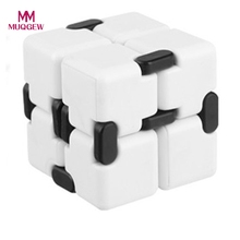 Buy Infinity Fidget Cube Mini EDC Toy Finger Anti Anxiety Magic Cube Blocks Adult Children Stress Relief Kids Funny Toys Xmas Gifts for $2.88 in AliExpress store