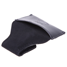 New PU Leather Billiard Snooker Chalk Holder Pouch Bag with Clip Pool Billiards Snooker Cue Maintenance BHU2