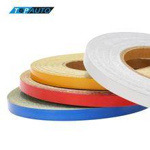 4 Colors 1CM*5000CM Car DIY Reflective Tape Strip Decoration Adhesive Sticker for Auto Automobile Motorcycle Truck Styling