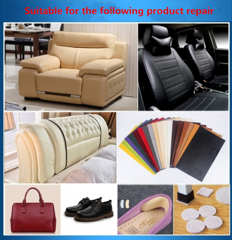 3pcs sofa repair leather self adhesive pu for car seat chair ...