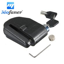 Mofaner Motorcycle Motor Bike Bicycle Sturdy Disc Brake Lock Security thief Alarm 7mm(China)