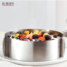 160-300 mm Stainless Steel Circle Retractable Adjustable Mousse Ring Cake Mould Ring  Cake Pan Ring  Baking Tools