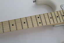 maple Scalloped Fingerboard Vintage white Yngwie Malmsteen Guitar Big Head ST Electric Guitar guitarra