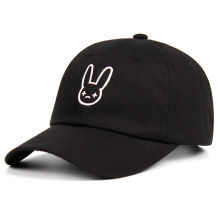 Concert-Hat Baseball-Cap Snapbacks Embroidery Dad-Hat Bad-Bunny Rapper Artist 100%Cotton