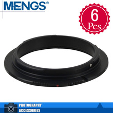 Buy MENGS 6Pcs per pack 55mm Lens Mount Adapter Ring Alloy Aluminum Material EF EF-S Camera Body, 14150005201 for $8.99 in AliExpress store
