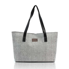 2017 New Fashion Women Bag Handbag Canvas Shoulder Bags Appliques Portable Bag Large Capacity Lady Shopping Linen Casual Totes