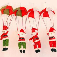 hot Sale Santa Claus Snow Man Doll Christmas Decoration Xmas Tree Hanging Ornaments Pendant Best Gift home decoration