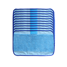 High Quality Microfiber 10-Pack Pro-Clean Mopping Cloths for Braava Floor Mopping Robot irobot Braava Minit 4200 5200 380 380t(China)