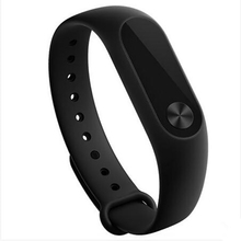 Original Xiaomi xiaomi mi band 2 Smart Wristband Bracelet all compatible Miband OLED Touchpad Sleep Monitor Heart Rate Mi Band2(China)