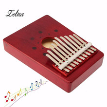 10 Keys Kalimba Mbira Likembe Hollow Thumb Finger Piano Music Instrument African Traditional Music Instruments Great Gift(China)
