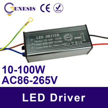 High Power LED Driver 10W 20W 30W 50W For DIY COB LED lamp Beads Chip Bulbs Floodlight Spot light With waterproof