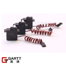 Freeshipping GARTT (3 PIECES/LOT) 9g Micro Servo Analog Simulation For 200 450 480 RC Helicopter & Airplane Big Sale(China)