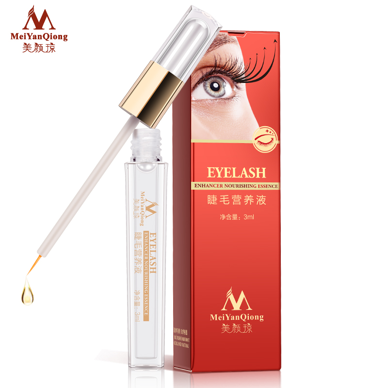 Herbal Eyelash Growth Treatments Liquid Serum Enhancer Eye Lash Longer Thicker Better than Eyelash Extension Powerful Makeup(China)