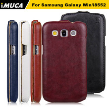 iMUCA for Samsung Galaxy Win i8552 cases Cover GT i8550 i8558 8552 PU Leather Flip case cover Samsung galaxy win i8552 case bags