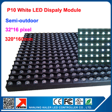 TEEHO P10 indoor/outdoor 320*160mm dot matrix led display panel indoor led display,semi-outdoor dot martix module P10 white(China)