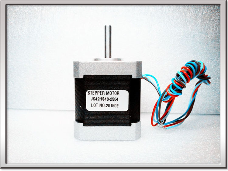 FREE SHIPPING CE ROHS 2phase hybrid 42MM Nema 17 Stepper Motor 42HS48-2504 5.0kg.cm 70 oz.in 12V 2.5A 5W 3D Printer Machine part<br><br>Aliexpress