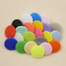 200sets/lot Mix Color KAM T5 Plastic Button Resin Snaps Fasteners Dummy Clips Press Studs Clothing Baby Snap Buttons DIY Sewing