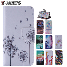 Buy Painted Style Leather Protector TPU Cover Stand Case Wallet Card Slots Phone Case Samsung Galaxy J1 J100F J100 J100H for $3.98 in AliExpress store