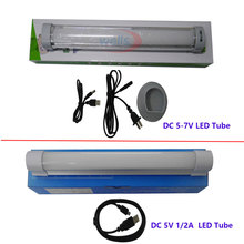 DC5V 1/2A Multi-function Wireless Daylight lamp,AC 100-240V to DC 5-7V Rechargeable Emergency Lights, Camping SMD 5730 LED Tube(China)