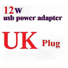100pcs* 2.4A 12W AU/ UK AC Wall Charger usb Power Adapter Plug For iPad 234 /air 5 6 /Mini/for iPhone, AU & UK Optional(China)
