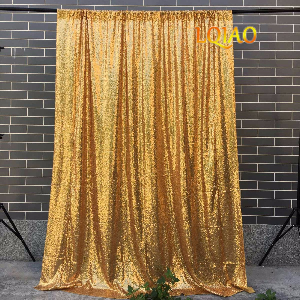 Gold Sequin Backdrop-003
