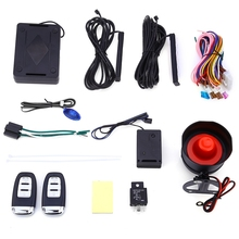 Free Shipping EC001 Universal Rolling Code PKE Keyless Entry Car Alarm System Auto Lock Unlock Remote Central Kit