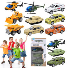 Sliding Alloy Car Truck Model Car-Styling 6 Kinds Of Style Children Dinky Toys Military Toy Car Toys For Children